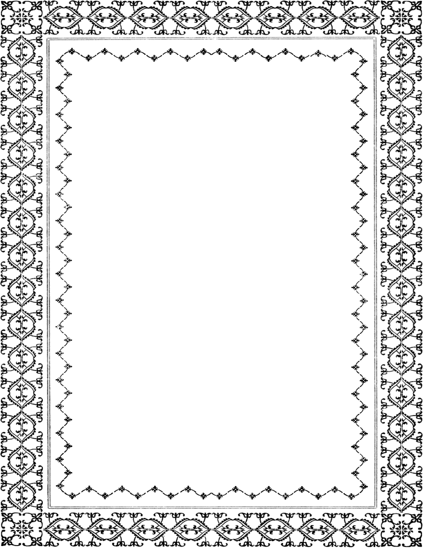 vintage border page - /page_frames/old_ornate_borders/ornate_frames ...