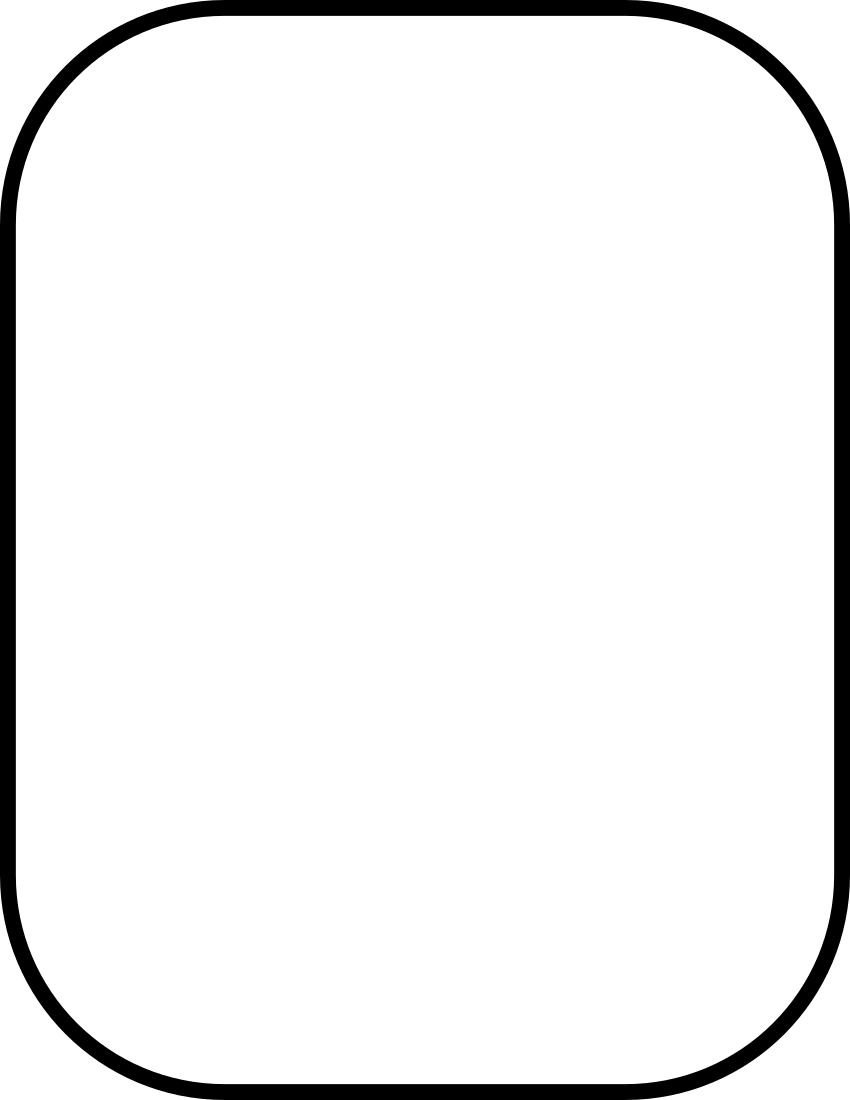 rounded corners heavy 2   page frames  rounded borders rectangle clip art with design in center rectangle clip art frame
