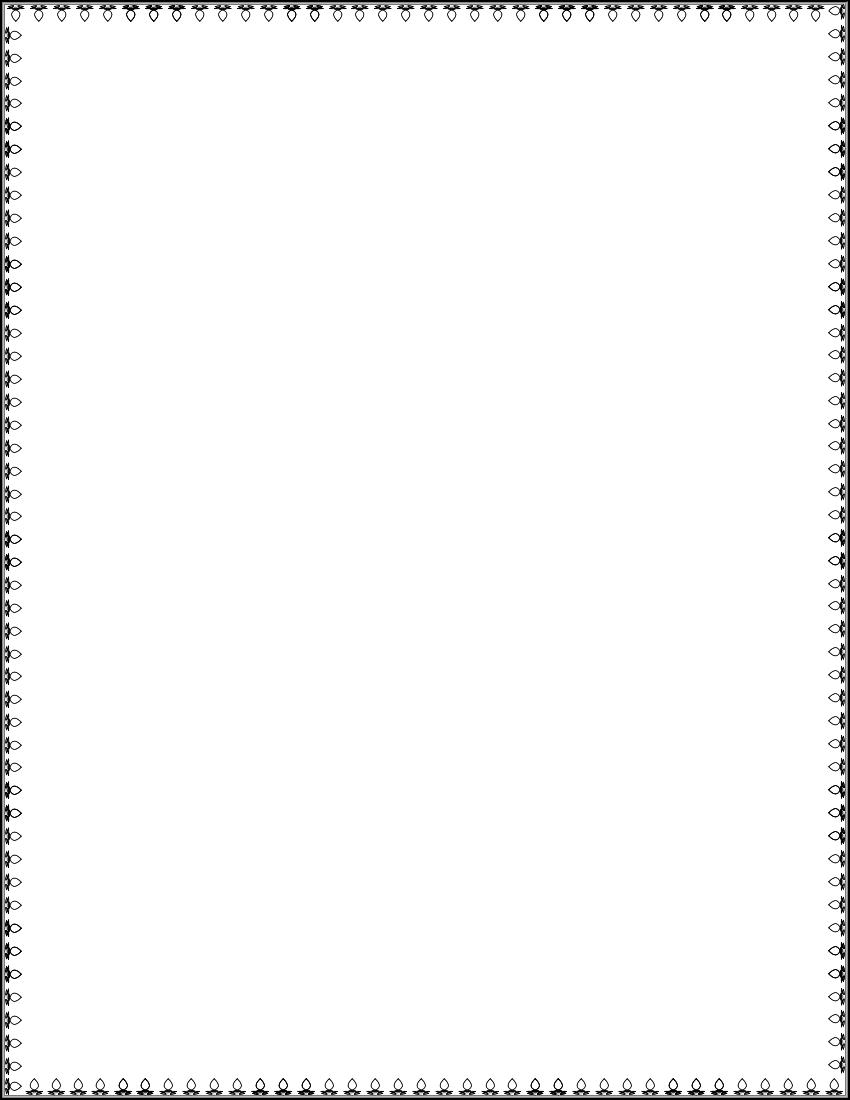 Ornamental Border 2 Page Frames Simple Ornamental