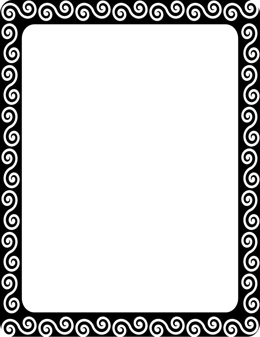 Asian printable frames