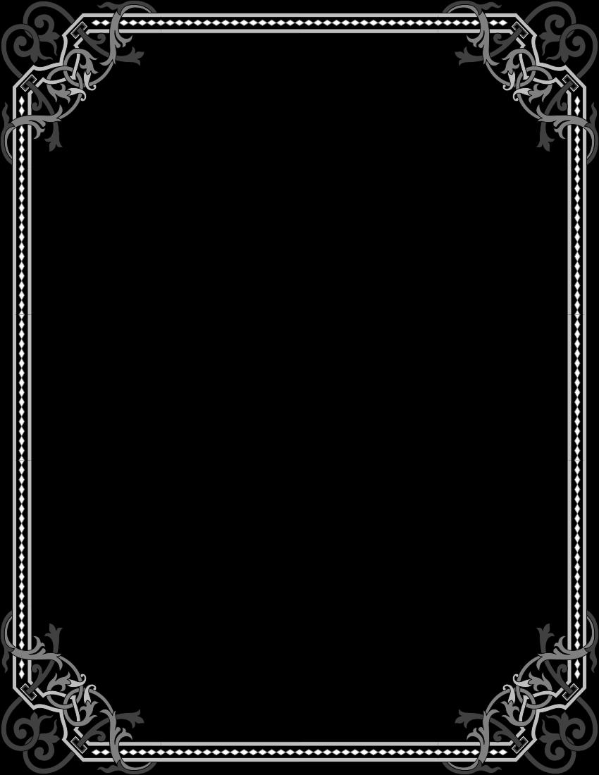 elegant gothic frame - /page_frames/vintage/elegant_gothic ...