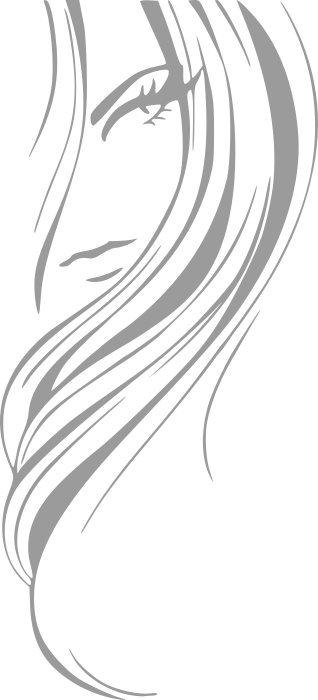 girl hair style grayscale   people  female  hair style  girl hair clip art free hair clip art transparent