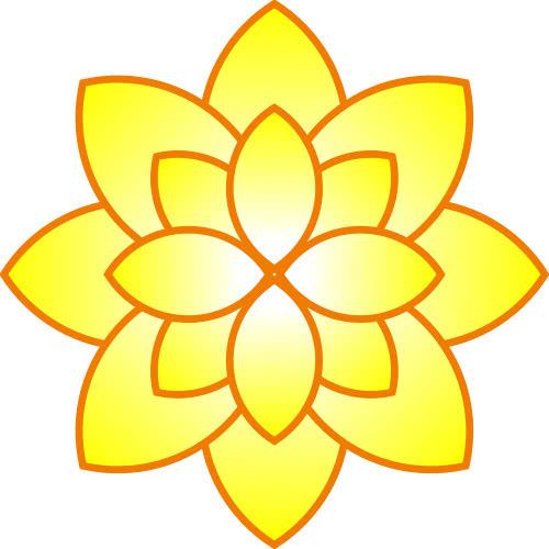 Yellow Flower Plants Flowers Abstract Flower Flower