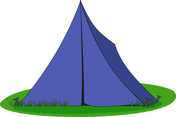Tent Blue Recreation Camping Hiking Tent Tent Blue Png Html