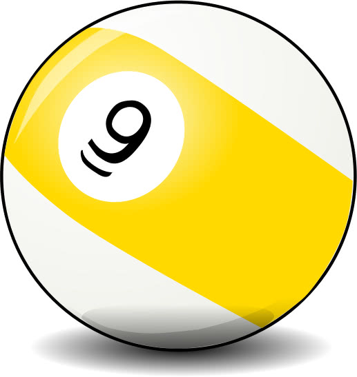 9 Ball Recreation Games Pool 9 Ball Png Html