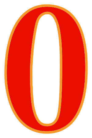 number 0 red   signs symbol  alphabets numbers  color numbers clip art free numbers clip art free downloads