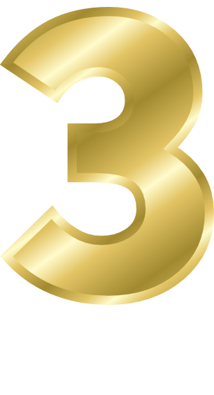 Gold Number 3  Signs Symbol  Alphabets Numbers  Gold  Gold