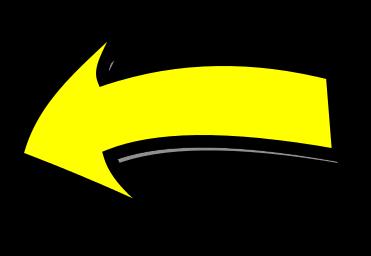 Arrow comic left yellow - /signs_symbol/arrows/arrow_comic ...