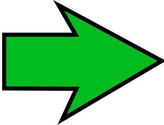 Arrow Sharp Green Right Signs Symbol Arrows Arrow Large