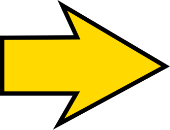 Arrow sharp yellow right - /signs_symbol/arrows/arrow ...
