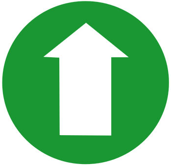 how to create up arrow key
