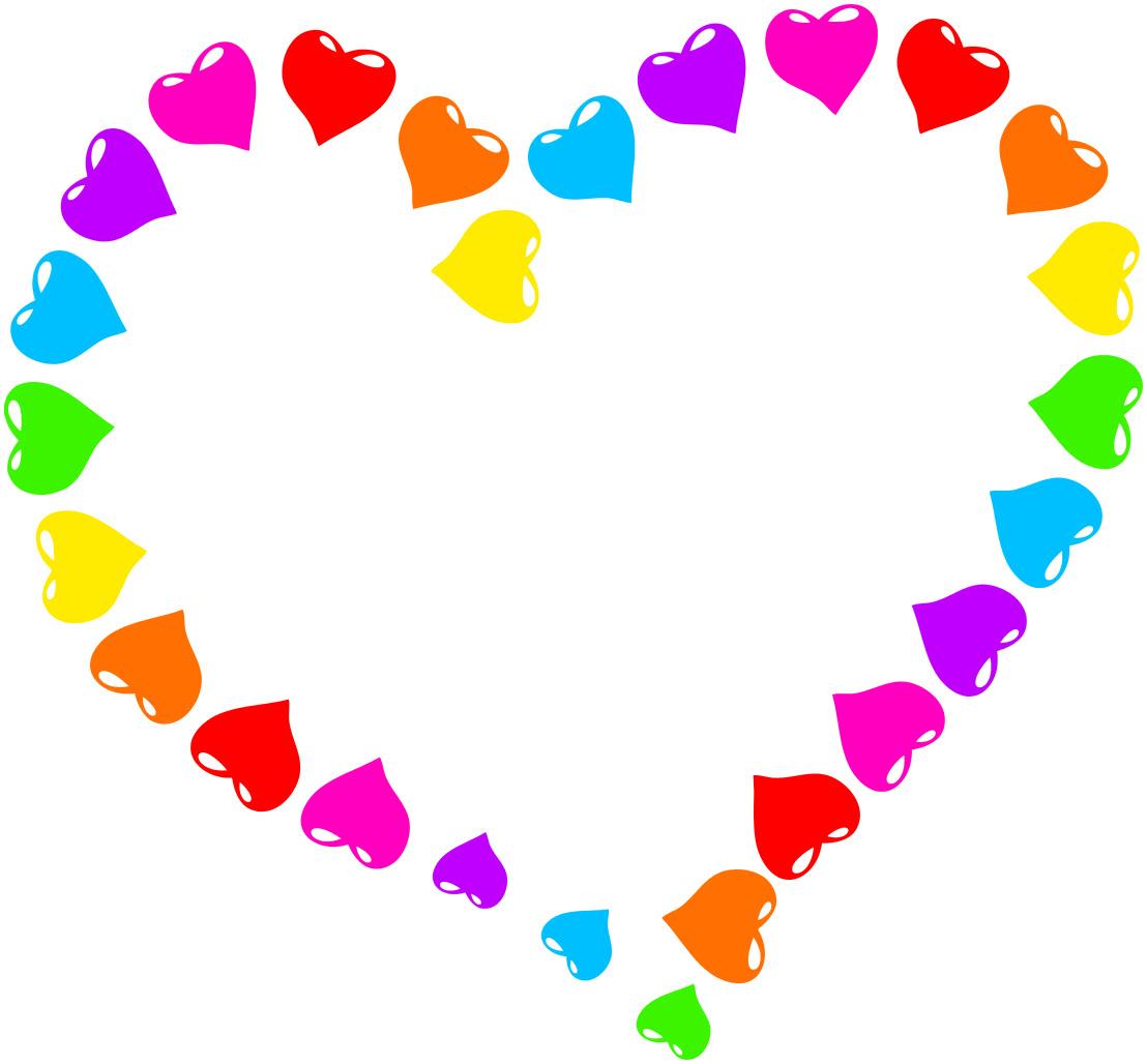 rainbow heart   signs symbol  love  hearts  rainbow heart clip art rainbow tree clip art rainbow gold