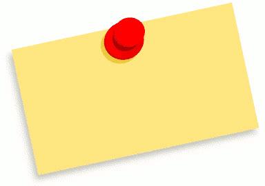 thumbtack note blank - /signs_symbol/thumbtack_notes ...