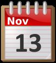 Calendar November 13 Time Calendar Flip Calendar 11