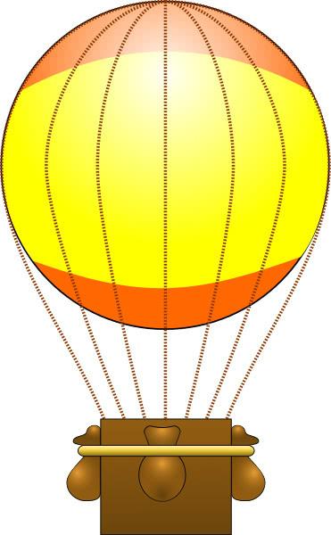 balloon with sandbags   transportation  aircraft  balloon aircraft clipart free aircraft clipart images