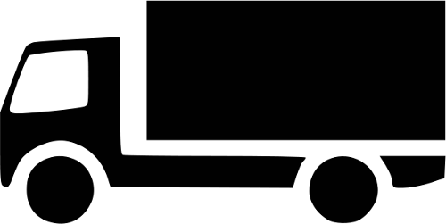 Small Truck Bw Icon Transportation Car Icons Bw Small