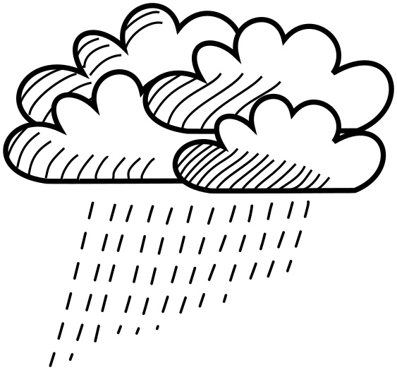 clouds lineart rain   weather  clouds  cloud storm  clouds clipart clouds/rain clipart clouds/rain