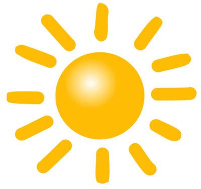 Sun W Rays Weather Sun Sun W Rays Png Html