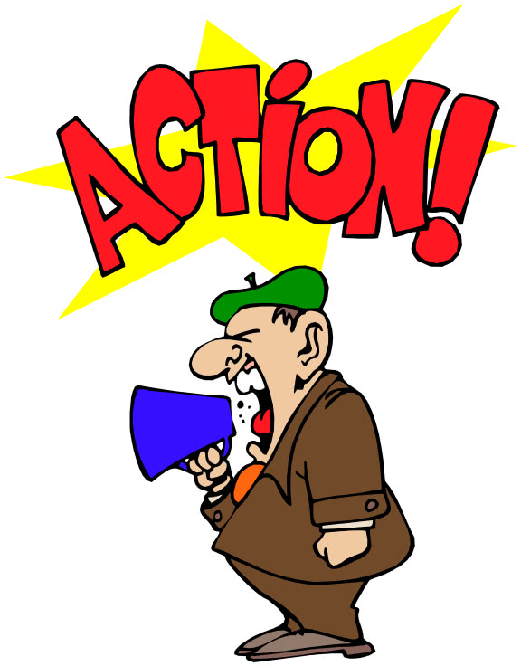 movie director action shout   working  people at work clipart people working together as a team clip art people working hard