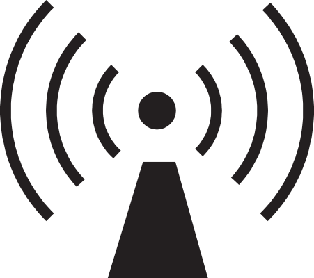 radio frequency hazard   working  signs  hazard signs  radio clip art radio announcer clip art radio button