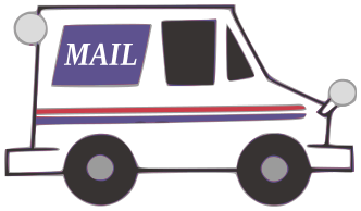 Image result for mail truck