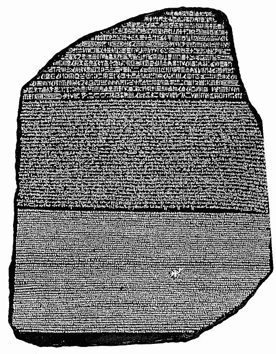 Rosetta Stone World History Civilizations Egyptian