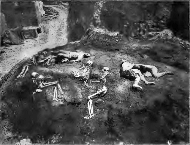 skeletons and plaster casts pompeii   world history  earth volcano clip art eruption volcano clip art black and white