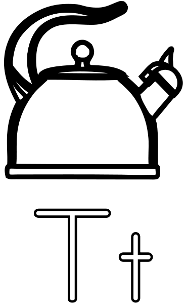 Kettle Coloring Page