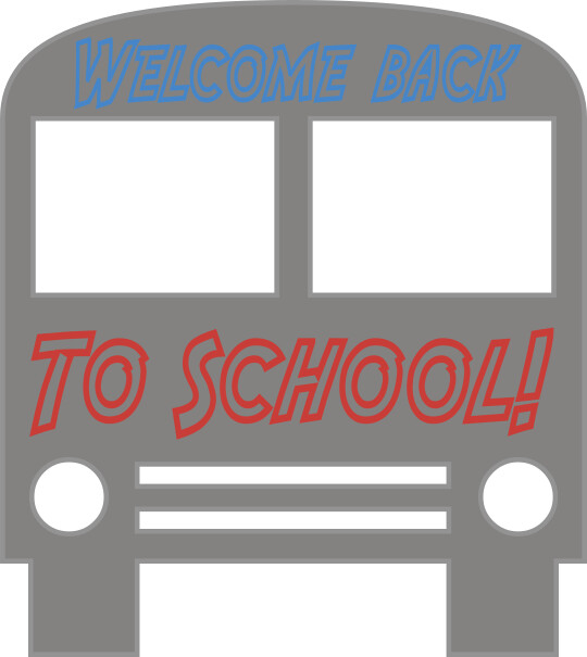 back to school bus clipart - photo #30