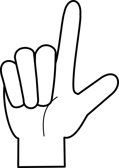 number four clipart