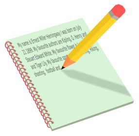 Pencil And Pad Education Classwork Handwriting Pencil