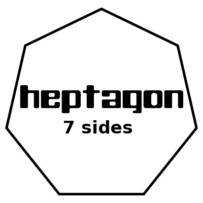 Heptagon Definition Shapes amp Examples  Video amp Lesson