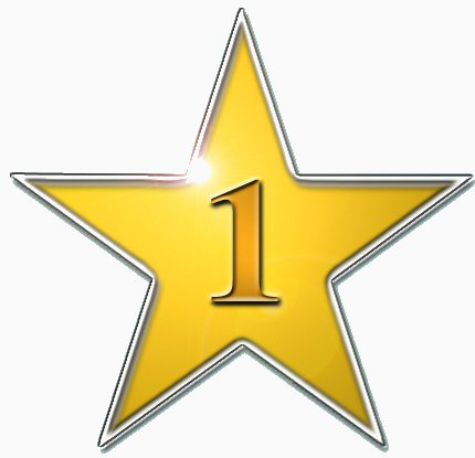 star number 1 - /education/gold_stars/more_stars/star_number_1.png ...