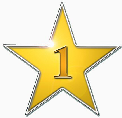 Star Number 1 Education Gold Stars More Stars Star