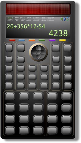 Scientific Solar Calculator - /education/supplies/calculator