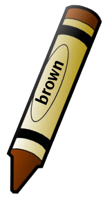 crayon brown 1   education  supplies  crayons  crayon brown clip art crayons and paper clip art crayons images