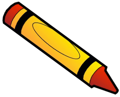 crayon orange   education  supplies  crayons  crayon orange clip art of crayons clip art of crayons markers