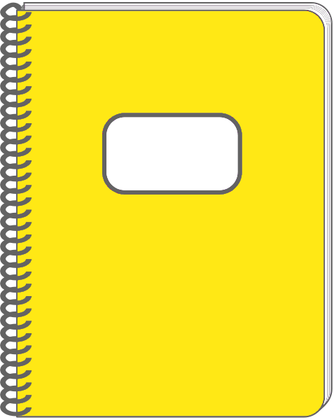 notebook page clipart - photo #48