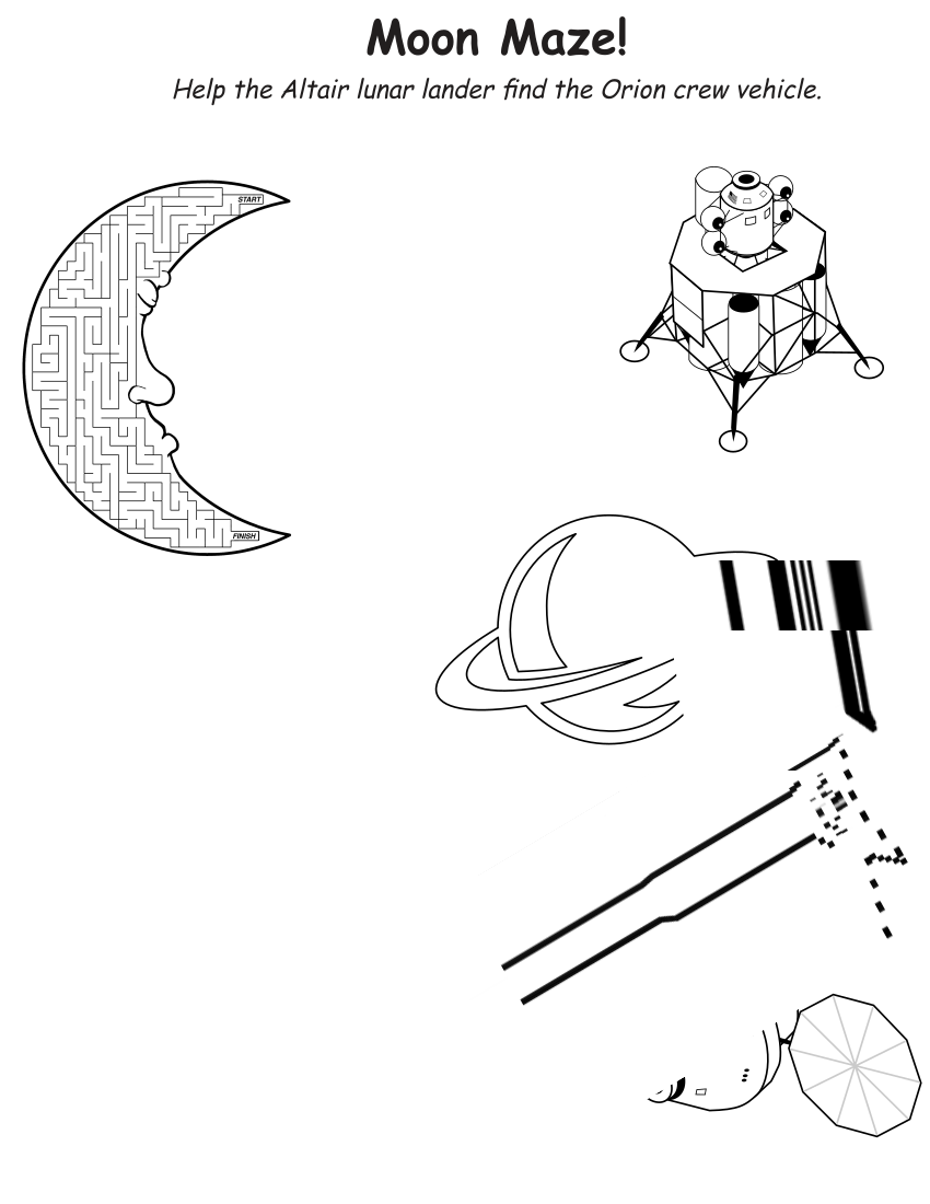 moon maze - /education/worksheets/moon_maze.png.html