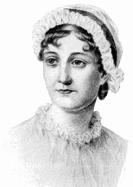 Jane Austen sketch - /...