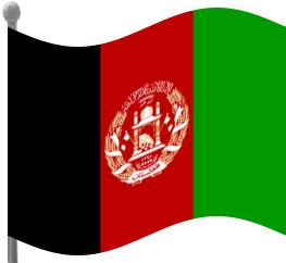 Afghanistan Flag Clip Art