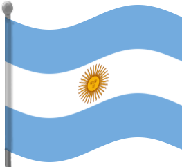 Argentina Flag Waving Flags Countries A Argentina