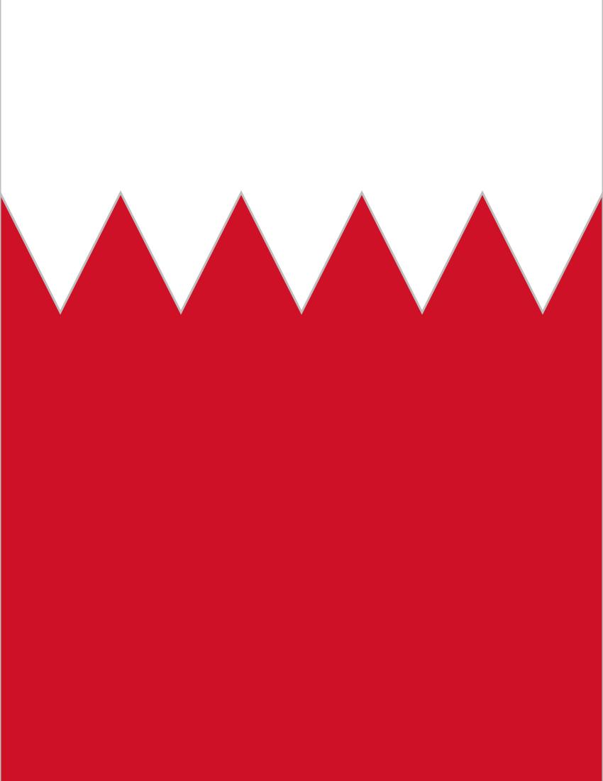 Bahrain Flag Full Page FlagsCountriesBBahrain - Bahrain flags