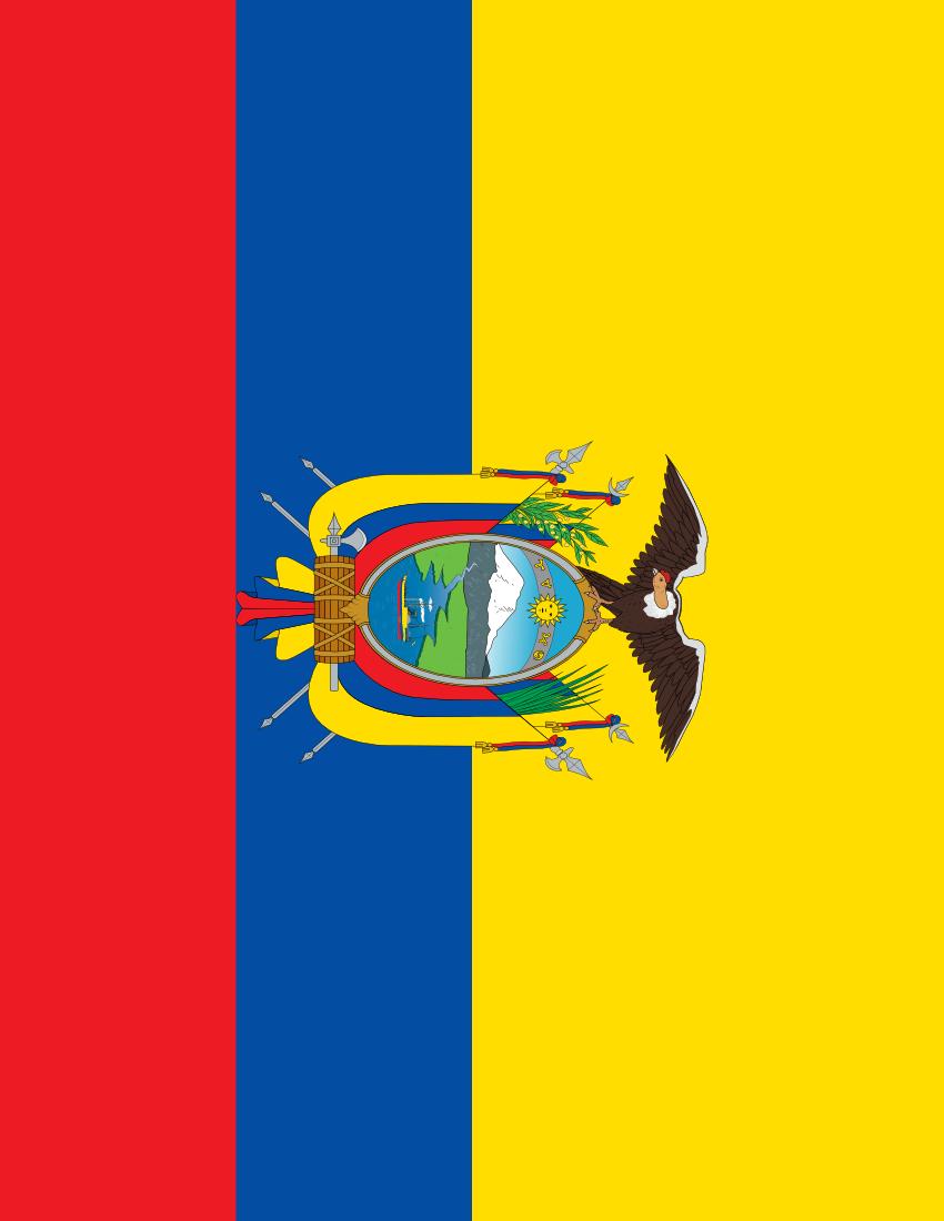 Ecuador Flag Full Page FlagsCountriesEEcuador - Ecuador flags