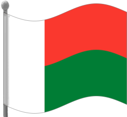 ... flag waving - /flags/Countries/M/Madagascar/madagascar_flag_waving.png