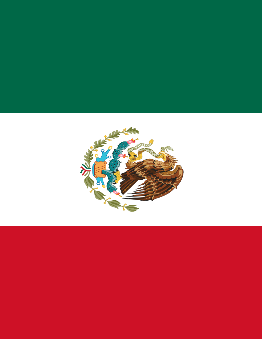 mexico flag full page flags countries m mexico