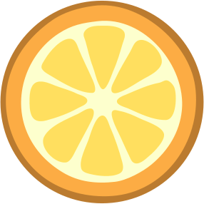 Orange Slice Food Fruit Orange Orange Slice Png Html