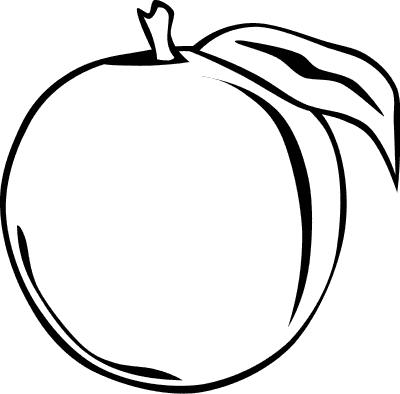 peach outline - /food/fruit/peach/peach_outline.png.html