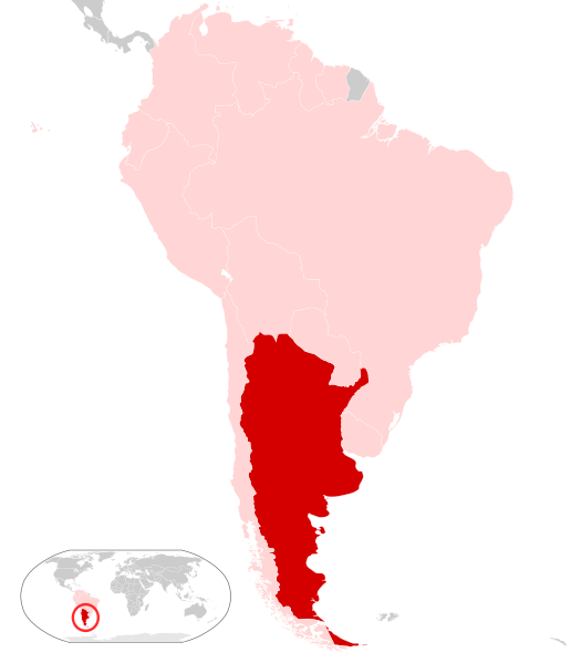 Argentina Location Map GeographyCountryMapsAArgentina - Argentina map png