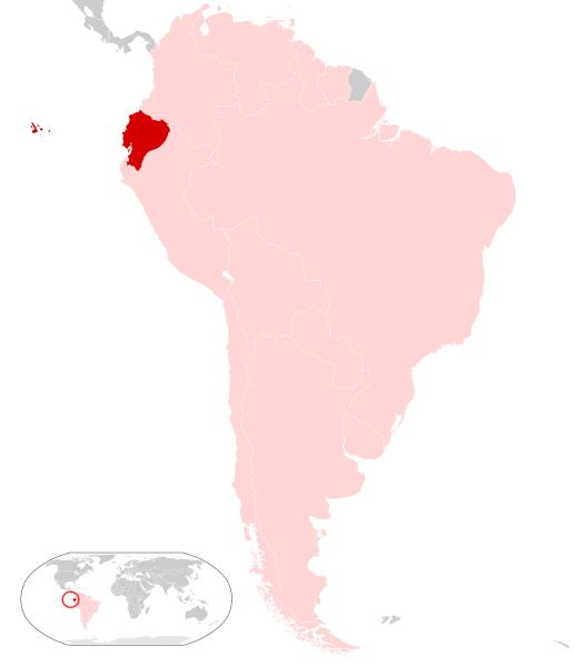 Ecuador location map geographyCountryMapsEEcuador